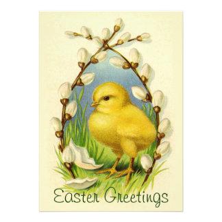 Poca invitación del polluelo de Pascua