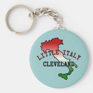 Poca Italia Cleveland Llavero Redondo Tipo Pin