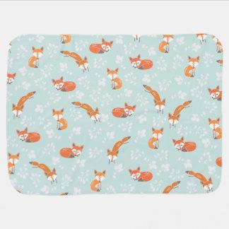 Poca manta del bebé del Fox Mantitas Para Bebé