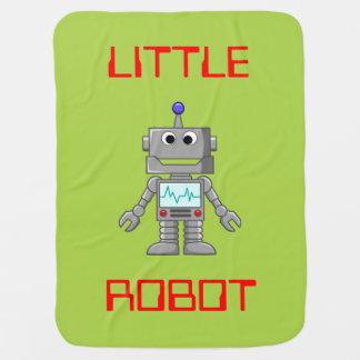Poca manta del bebé del robot mantas de bebé