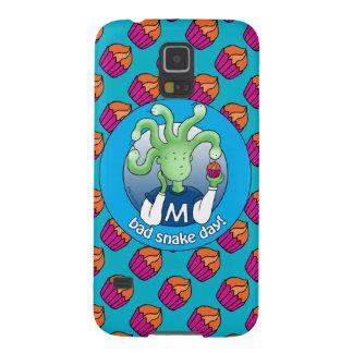 Poca medusa. ¡Mún día de la serpiente! Carcasas Para Galaxy S5