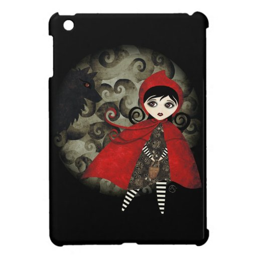 Poca mini caja del iPad rojo de Capuccine iPad Mini Carcasa