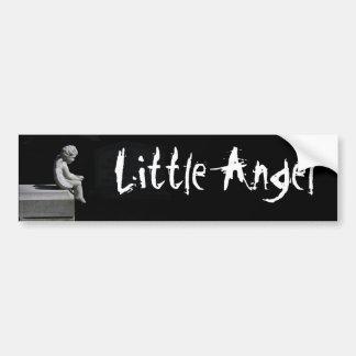 Poca pegatina para el parachoques del ángel etiqueta de parachoque