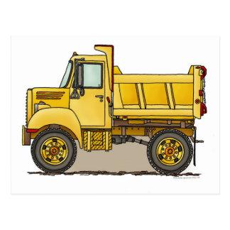 Poca postal del camión volquete