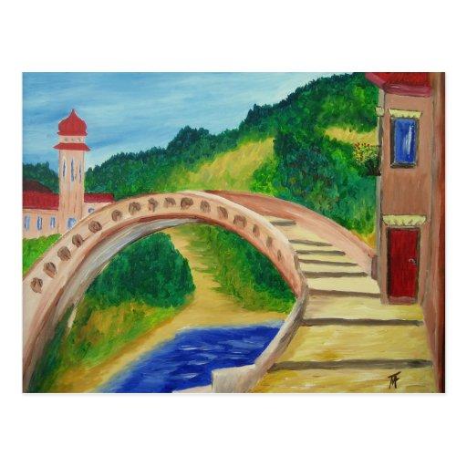 Poca postal del puente