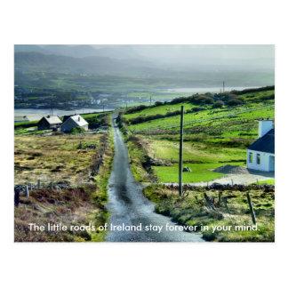 Poca postal irlandesa del camino