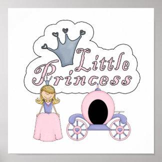 Poca princesa del cuento de hadas impresiones