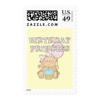 Poca princesa Tshirts y regalos del cumpleaños Sellos