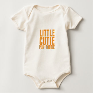 Poca PU-Tootie de Cutie Mamelucos De Bebé
