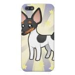 Poca rata Terrier de la estrella/fox terrier de ju iPhone 5 Cárcasas