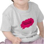 Poca ropa del bebé de Poopinator de la mamá Camiseta