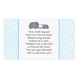 Poca tarjeta de la petición del libro del tarjetas de visita