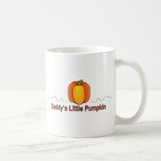 poca taza de la calabaza del papá