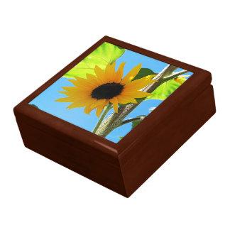 Poca teja amarilla Giftbox del girasol Cajas De Regalo