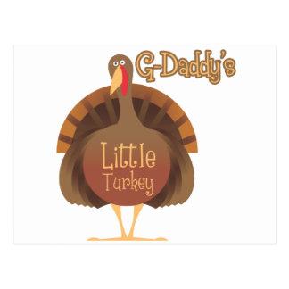 Poca Turquía de los G-Papás Tarjeta Postal