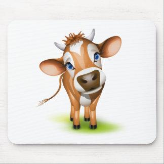 Poca vaca del jersey alfombrillas de raton