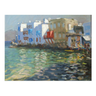 Poca Venecia Mykonos Tarjetas Postales