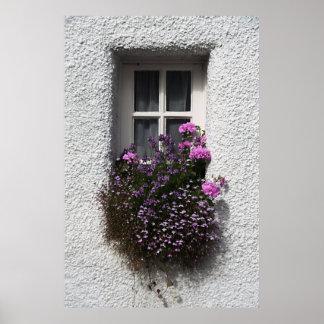 Poca ventana de la impresión del poster de Culross