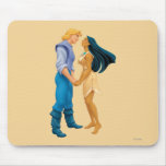 Pocahontas and John Smith Holding Hands Mouse Pads