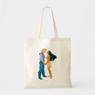 Pocahontas and John Smith Holding Hands Tote Bag