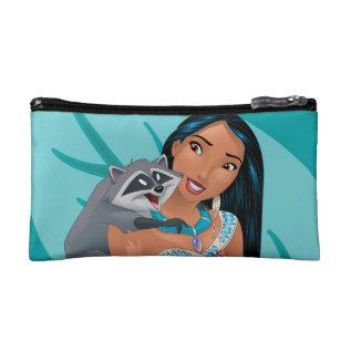 Pocahontas And Meeko Cosmetic Bag at Zazzle