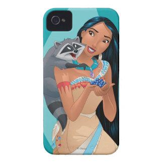 Pocahontas and Meeko iPhone 4 Case