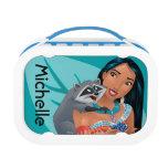Pocahontas and Meeko - Personalized Lunch Box<br><div class='desc'>Princess</div>