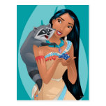 Pocahontas and Meeko Post Card