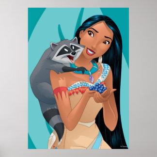 Pocahontas and Meeko Poster