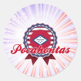 Pocahontas, AR Etiqueta