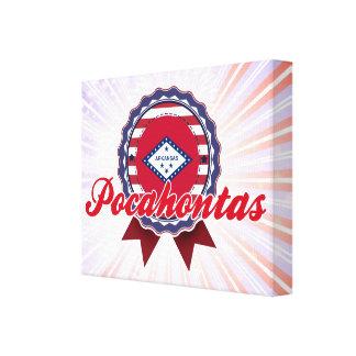 Pocahontas, AR Lona Estirada Galerías