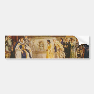 Pocahontas at the Court of King James by Rummels Car Bumper Sticker