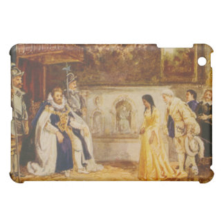 Pocahontas at the Court of King James by Rummels iPad Mini Case
