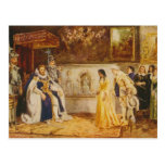 Pocahontas at the Court of King James by Rummels Post Card
