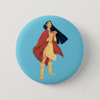 Pocahontas Cape Button