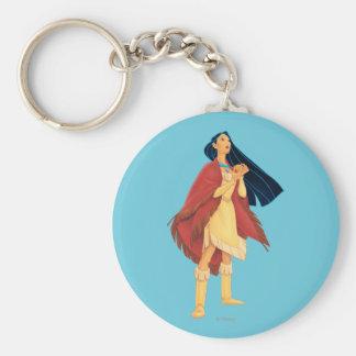 Pocahontas Cape Key Chain