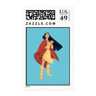 Pocahontas Cape Postage