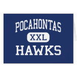 Pocahontas Hawks Richmond media Virginia Tarjetas