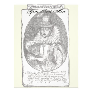 Pocahontas Letterhead