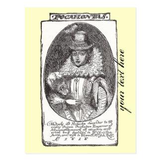 Pocahontas Post card