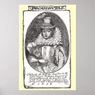 Pocahontas Poster Print