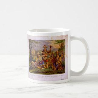 Pocahontas Saving the Life of Captain John Smith Coffee Mug