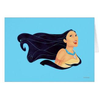 Pocahontas Smiling Card