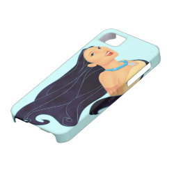 Case-Mate Vibe iPhone 5 Case with Pocahontas Colors of the Wind design