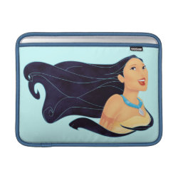 Macbook Air Sleeve with Pocahontas Colors of the Wind design