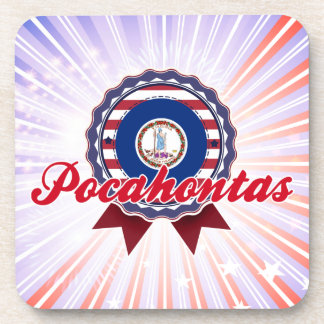 Pocahontas, VA Posavasos De Bebidas