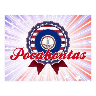 Pocahontas, VA Tarjetas Postales