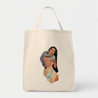Pocahontas y Meeko Bolsa Tela Para La Compra