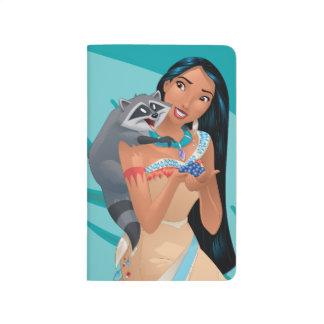 Pocahontas y Meeko Cuaderno Grapado