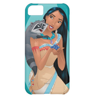 Pocahontas y Meeko Funda Para iPhone 5C